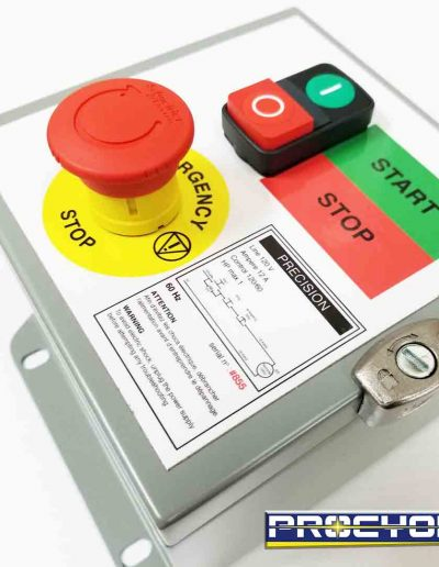 25 electrical safety box for emergency right view