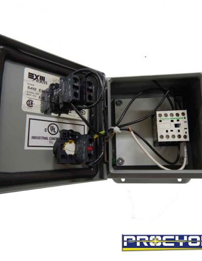 electrical safety box for emergency open view
