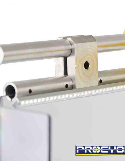milling guard whit led light